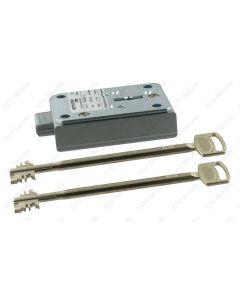 Wittkopp (CAWI) 1819 VdS Class 1/EN 1300 A 9-lever lock with 4 nickel silver 150mm keys