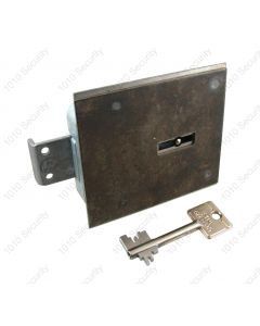 STUV 4.19.92 VDS Class 1/EN1300 A, 8 lever lock with manganese steel plate and 2 x 60mm keys