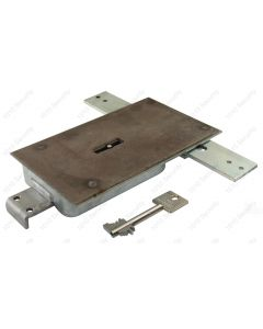 STUV 4.19.92 VDS Class 1/EN1300A, 8 lever 3 way lock with manganese plate and 2 x 60mm keys
