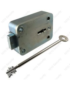 STUV 4.19.94 VDS Class 2, 11 lever lock. EN1300 B with 170mm nickel-plated keys; 2 x solid 1 x hinged