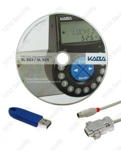 Kaba 525 software and cable