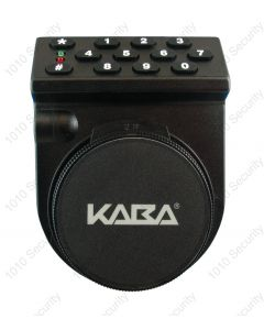 Kaba Auditcon 552 self-powered multi-user digital lock with a vertical dial
