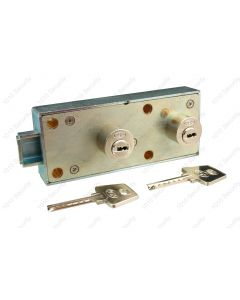 AGA dual control deposit lock with 2 x 52mm keys per lock
