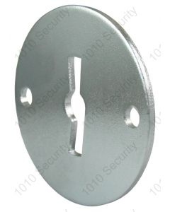 AGA steel key escutcheon 45mm diameter - Asymmetrical profile