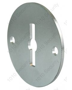 AGA steel key escutcheon 45mm diameter - Symmetrical profile