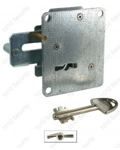 AGA 253 double throw lock with 2 x 69mm - Asymmetrical profile pin keys