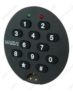 Round keypad for Kaba Auditcon T52, 252 and 552 locks