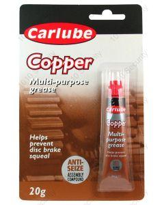 Carlube multi-purpose copper grease 20g tube