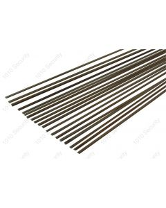 Pack of 20 lever spring strips of approx. 9 inches