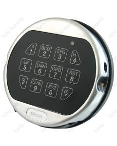 La Gard 5750K satin chrome audit keypad with backlight feature (Battery box not required)