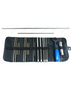 20 Piece set of Samurai safe punches in a heavy duty roll up