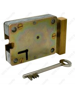 S2 7 Lever Hammerhead Lock With 2 x 42mm Keys