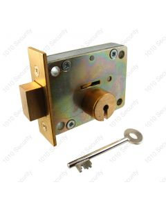 S6 7 Lever lock with 2 x 42mm keys - Nozzled