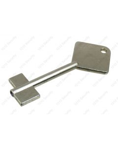 Secureline piped key blank - 80mm overall length