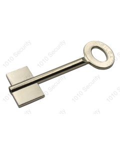 5 Gauge Silca Double Bitted Piped Key Blank for Tann Safes