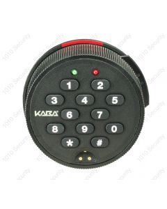 Kaba Auditcon T52 self-powered single-user digital lock with a round dial - Deadbolt