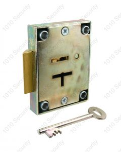 Walsall S1310S 6 lever safe slam lock with 2 x 76mm keys (overall length)