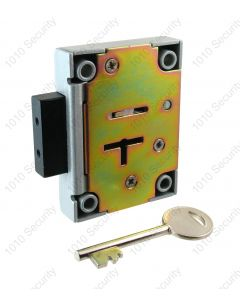 Walsall S1311 7 lever safe lock with 2 x 72mm keys (overall length)