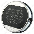 La Gard 5750 satin chrome keypad with backlight feature (Battery box not required)