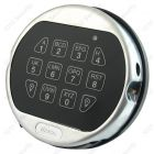 La Gard 5750K satin chrome audit keypad with backlight feature