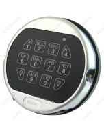 La Gard 5750 satin chrome keypad with backlight feature